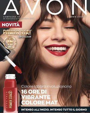 Avon Catalogo Campagna 10/2019 – 20 settembre/10 ottobre 2019
