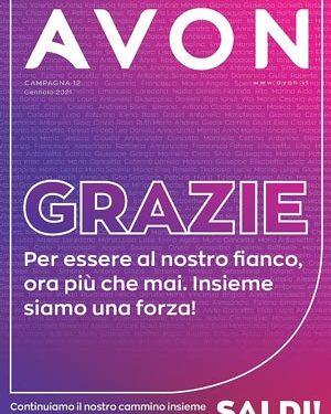 Avon Catalogo Campagna 12/2020 – 1/31 gennaio 2021